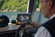 Plavební dráha v GPS