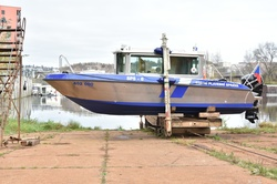Křest nové služební lodi SPS-6